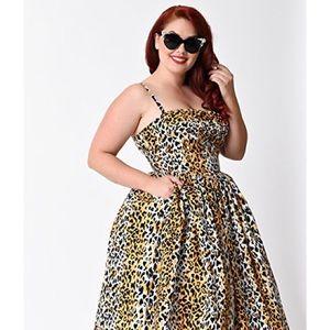 Paris Dress in Bernie's Leopard Print